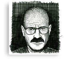 Walter Two Canvas Print