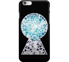Kingdom Keyhole (blue) iPhone Case/Skin