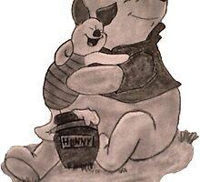 Winnie the Pooh by Jeff Grazi