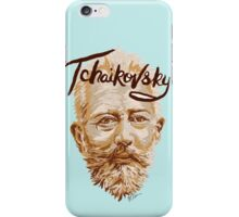 Tchaikovsky - classical music composer iPhone Case/Skin