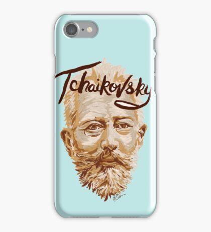 Tchaikovsky - classical music composer iPhone Case/Skin