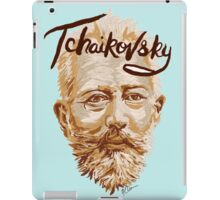 Tchaikovsky - classical music composer iPad Case/Skin