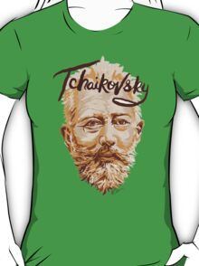 Tchaikovsky - classical music composer T-Shirt