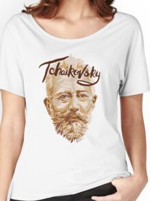 Tchaikovsky - classical music composer Women's Relaxed Fit T-Shirt