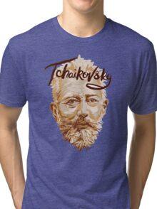 Tchaikovsky - classical music composer Tri-blend T-Shirt