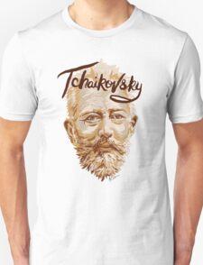 Tchaikovsky - classical music composer Unisex T-Shirt