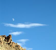 moonset. ladakh, north west india by tim buckley | bodhiimages