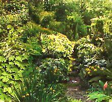 """The Journey"" Collage garden 10.5:H x 33""L by sonia neira-matthews"