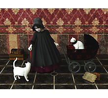 Playing: gothic way Photographic Print