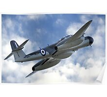 Armstrong Whitworth Meteor NF11 Poster
