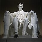 Lincoln Memorial at night by DLR4