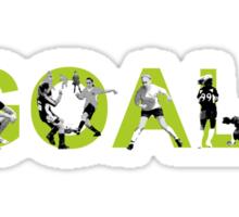 Goal! (green) Sticker