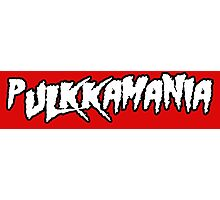 Pulkkamania! Photographic Print