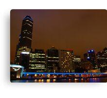 Melbourne City Skyline Canvas Print