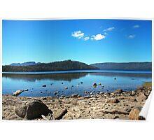 Summer Afternoon -  Lake St Clair, Tasmania Poster
