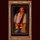 """""""Wills Displays Powerful Stage Presence"""" ... with a matted and framed presentation for prints and products  by © Bob Hall"""