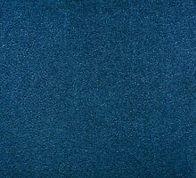 Blue rough cardboard texture abstract by Arletta Cwalina