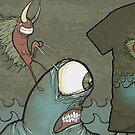 Ride The Wild Sea by KillerNapkins