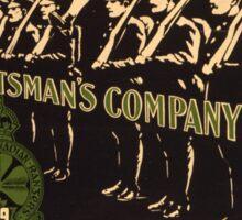 'Irish Canadian Ranger' Vintage Poster (Reproduction) Sticker