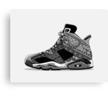 Nike Air Jordan VI  Canvas Print