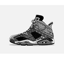 Nike Air Jordan VI  Photographic Print