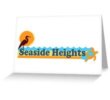 Seaside Heights - New Jersey. Greeting Card