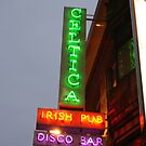 Irish pub in Brussels, Belguim by Nancy Huenergardt