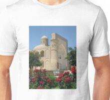 Chor-Bakr Engulfed in Red Roses Unisex T-Shirt