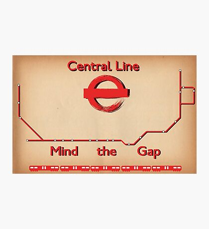 Central Line Photographic Print