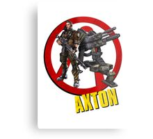 Axton Metal Print
