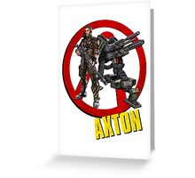 Axton Greeting Card