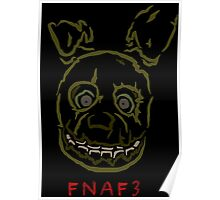 five nights 3 limited edition Poster