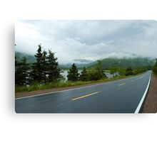 Nova Scotia Highway Canvas Print