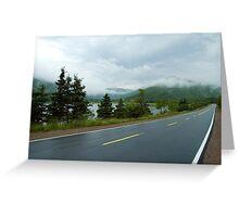 Nova Scotia Highway Greeting Card