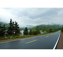 Nova Scotia Highway Photographic Print