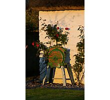 Root Cutter, Legan Heritage Cottage Photographic Print
