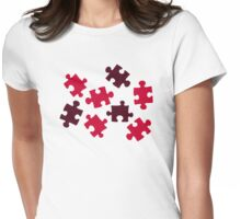 Jigsaw puzzle Womens Fitted T-Shirt