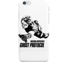 Hand-drawing Mission Impossible  iPhone Case/Skin