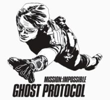 Hand-drawing Mission Impossible  Kids Tee