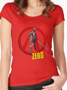 Zer0 Women's Fitted Scoop T-Shirt