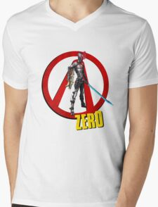 Zer0 Mens V-Neck T-Shirt