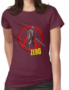 Zer0 Womens Fitted T-Shirt
