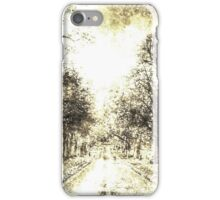 Greenwich Park London Vintage iPhone Case/Skin