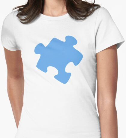 Jigsaw puzzle piece Womens Fitted T-Shirt