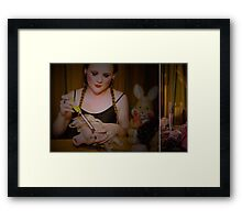 she was quite a doll Framed Print