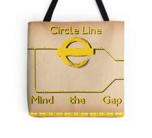 Circle Line Tote Bag