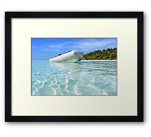 Where's Gilligan? Framed Print