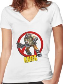 Krieg Women's Fitted V-Neck T-Shirt