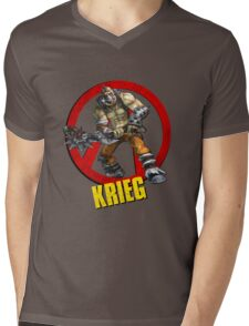 Krieg Mens V-Neck T-Shirt