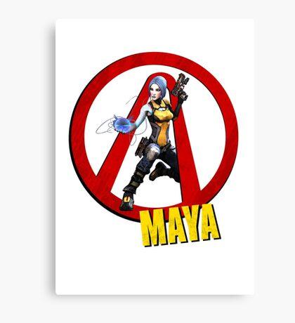 Maya Canvas Print